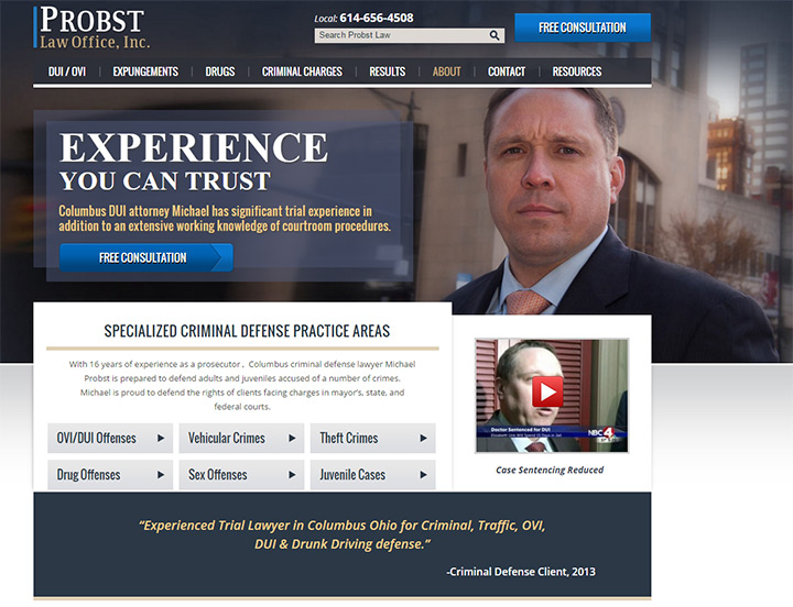 probst law firm website