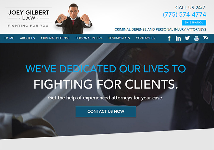joey gilbert law firm website