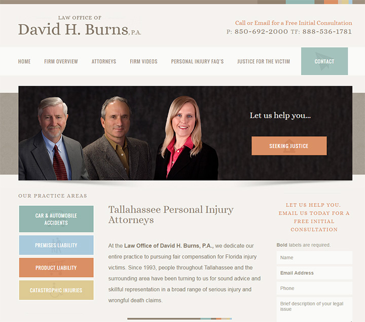 law office david h burns