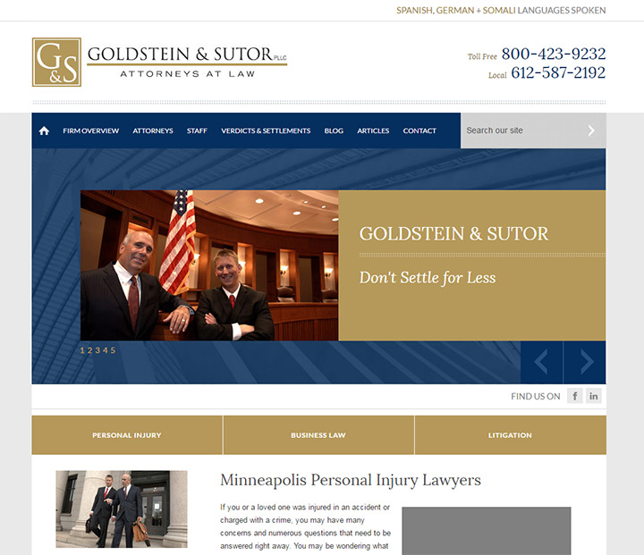 goldstein sutor law firm