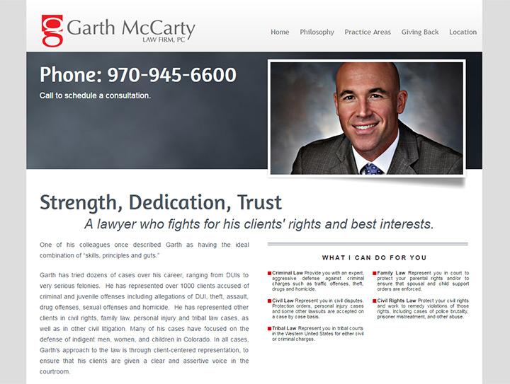 garth mccarty law firm website