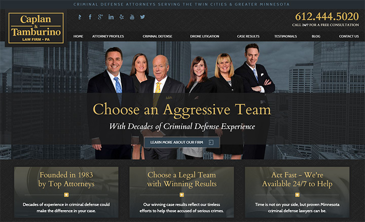 caplan tamburino website lawyer