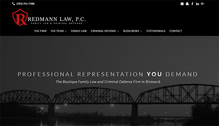 redmann law firm website