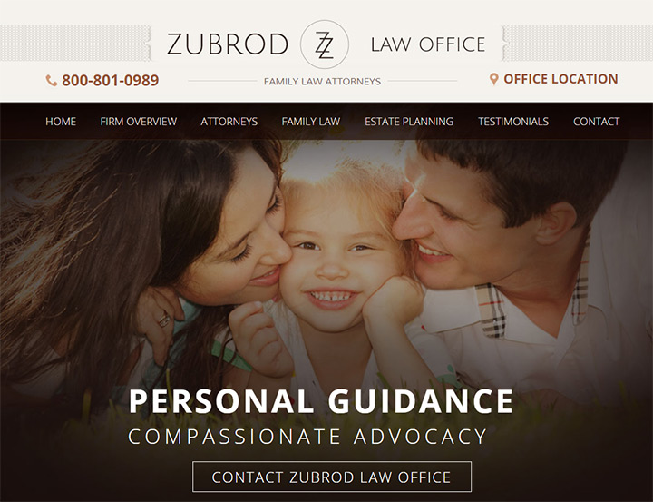 zubrod law office website