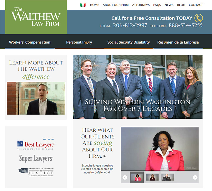 walthew law firm website