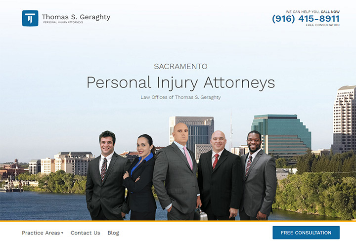 thomas geraghty law firm website