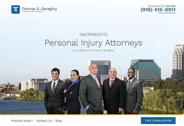 thomas geraghty law firm website