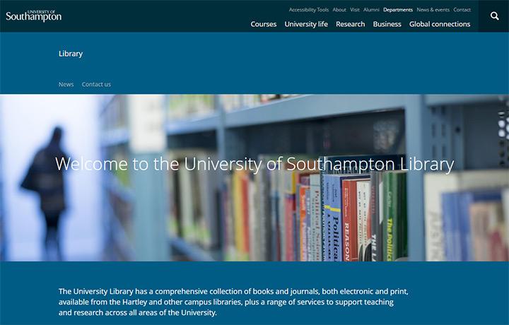 u southampton library