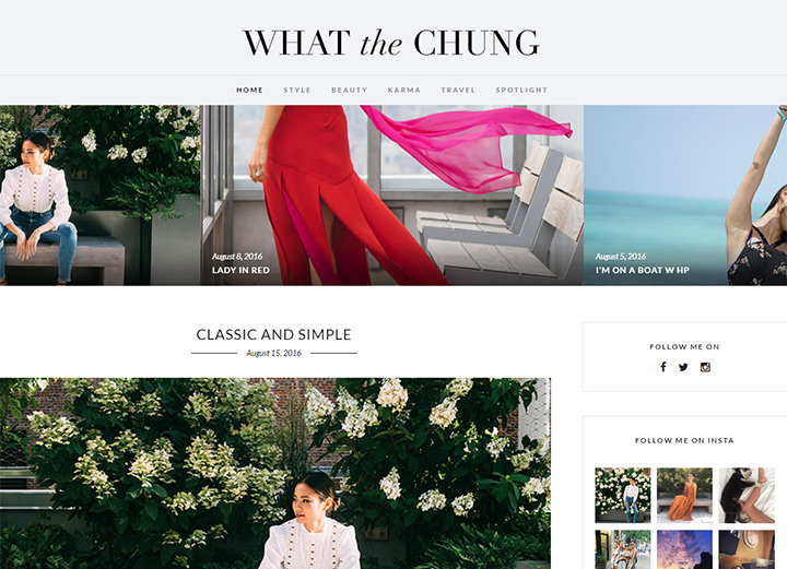 what the chung blog