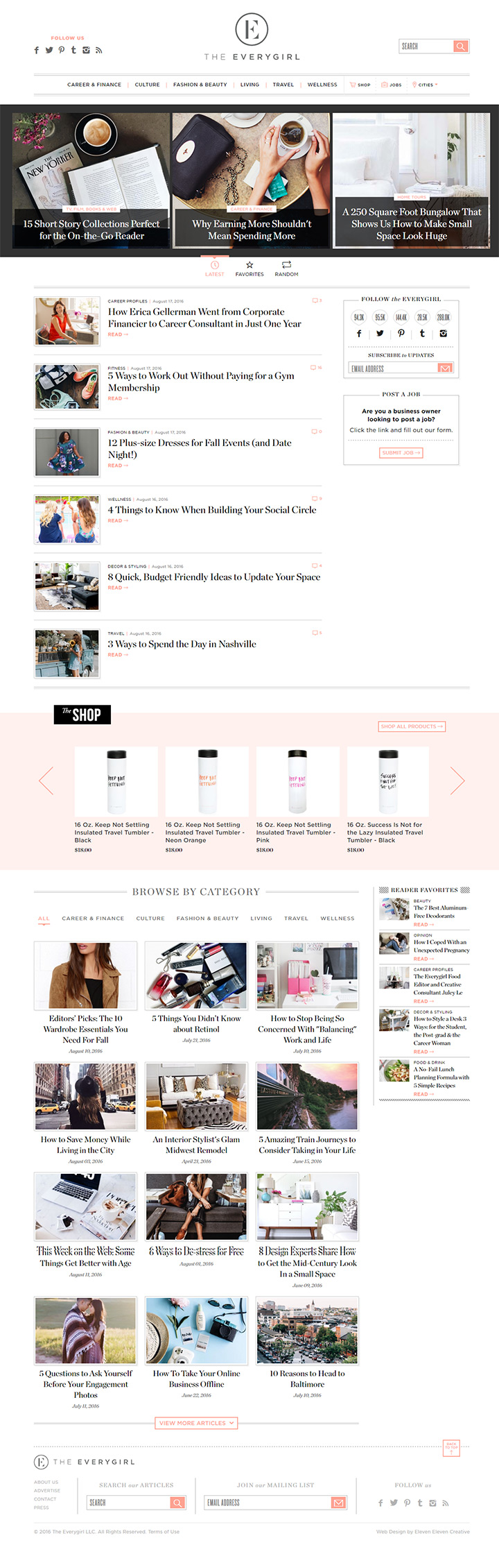 the everygirl blog