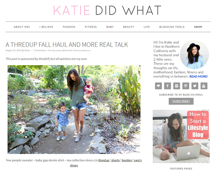katie did what blog