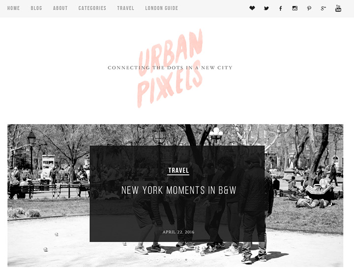 urban pixxels blog