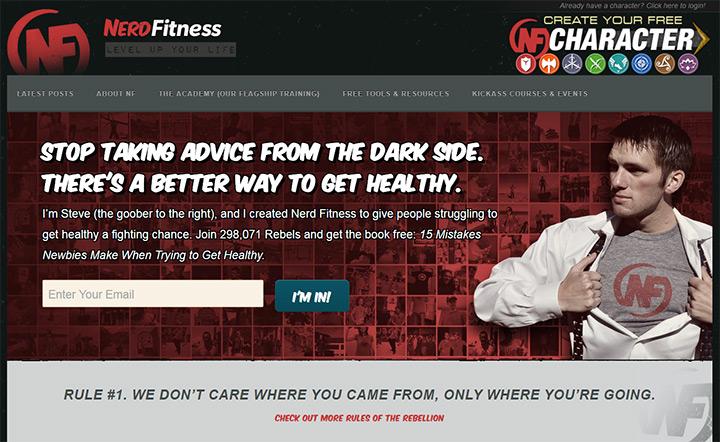 nerd fitness blog