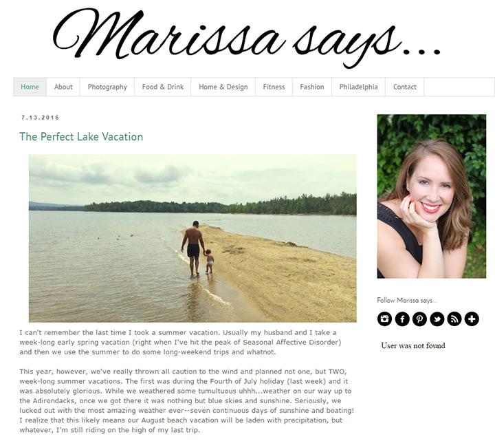 marissa says