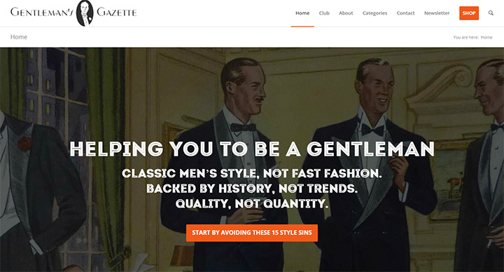 gentlemans gazette blog