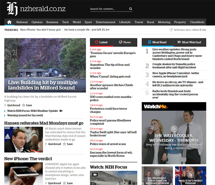 nz herald blog