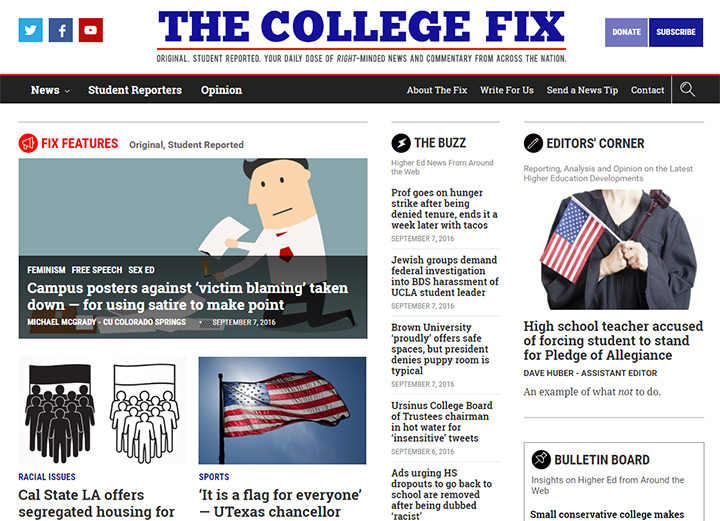 the college fix blog