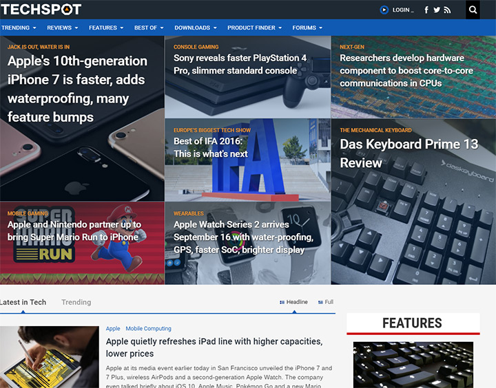 techspot blog