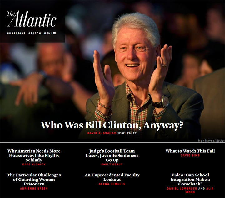 the atlantic homepage