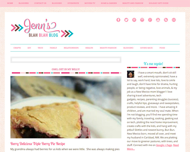 jens blah blah blog