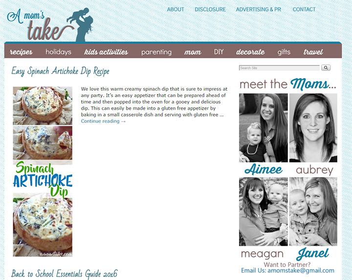 moms take blog