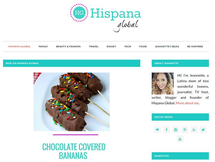hispana global website