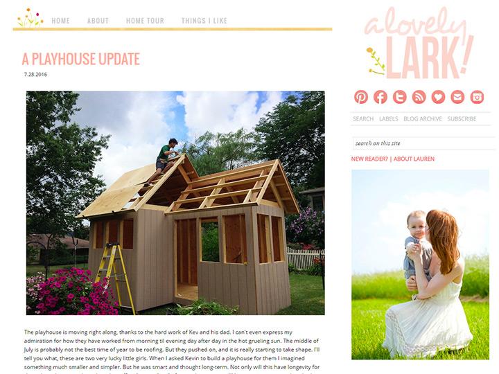 lovely lark blog