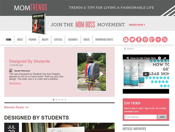 mom trends blog