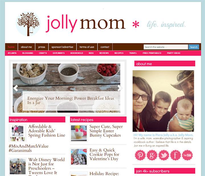 jolly mom blog
