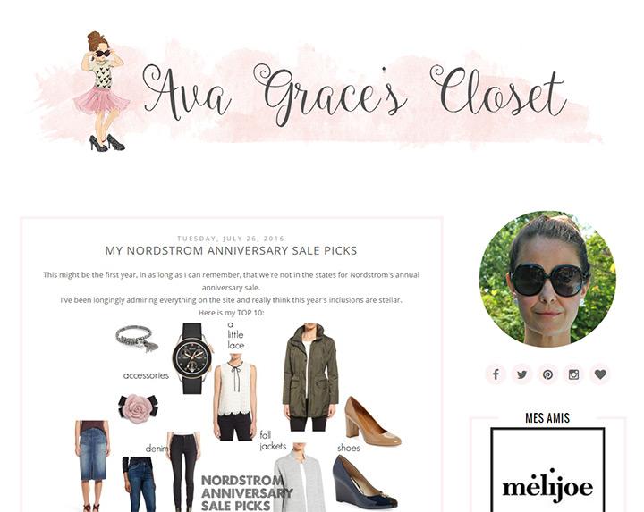 ava graces closet