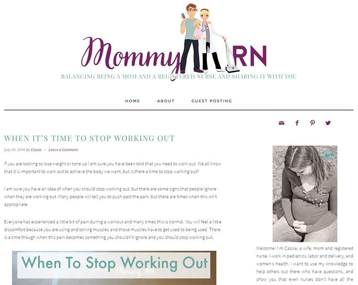 mommy rn blog