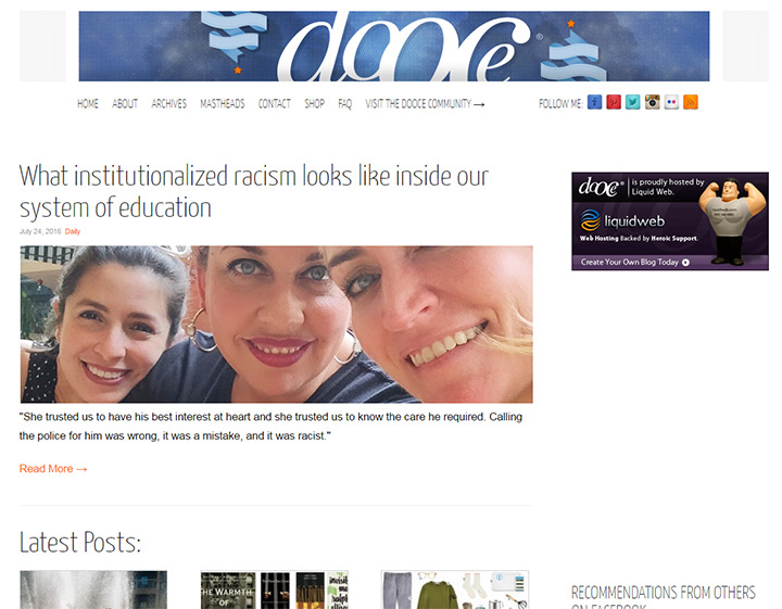the dooce blog