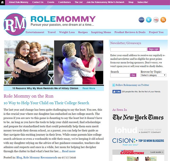 role mommy