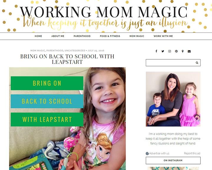working mom magic blog