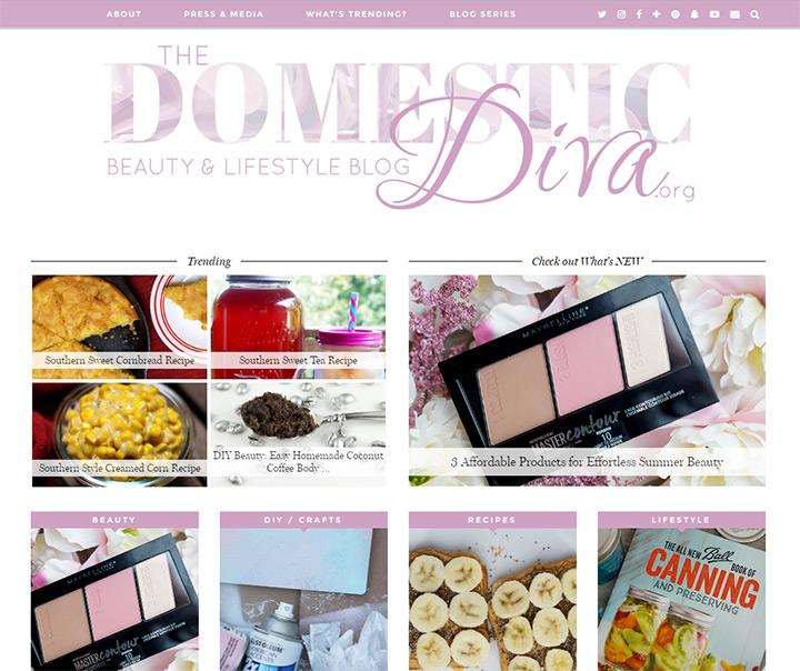 domestic diva blog
