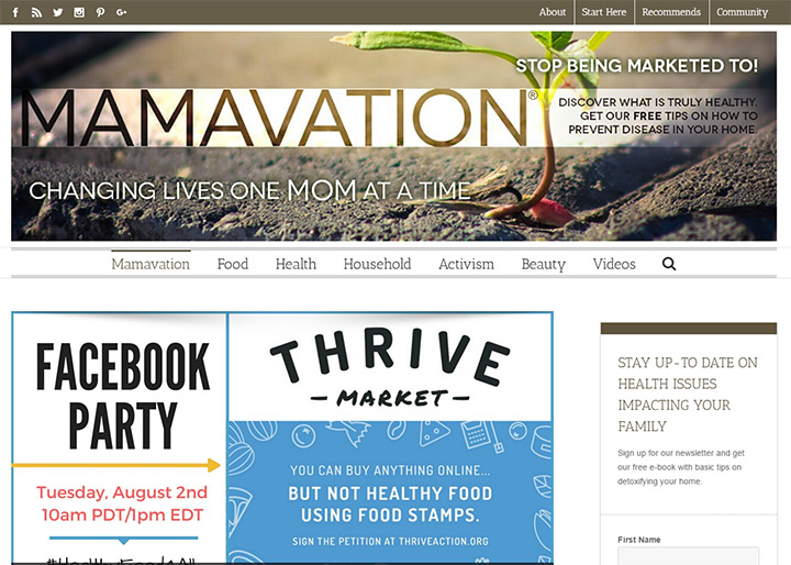mamavation blog