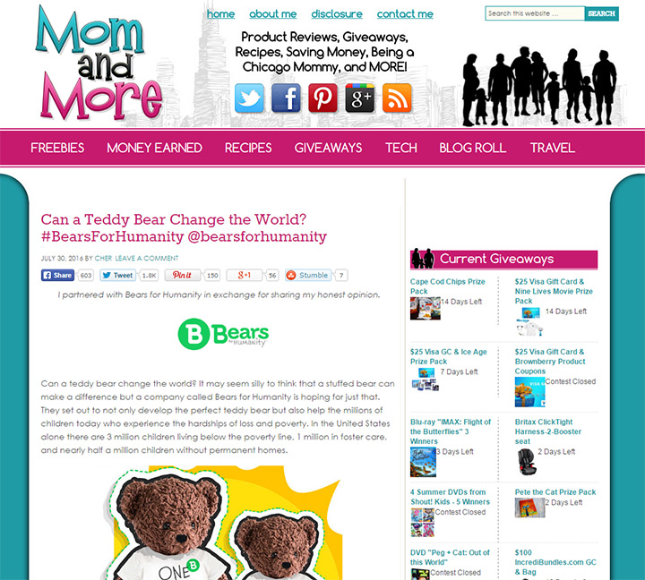 mom and more blog