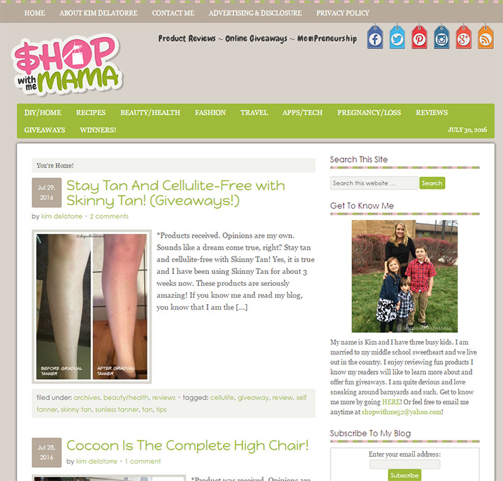 shop with me mama blog