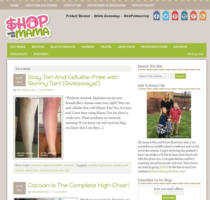 shop with me mama blog