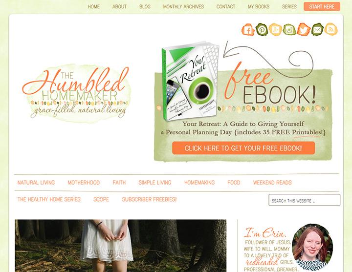 humbled homemaker blog