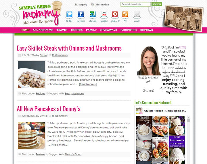 simply being mommy blog