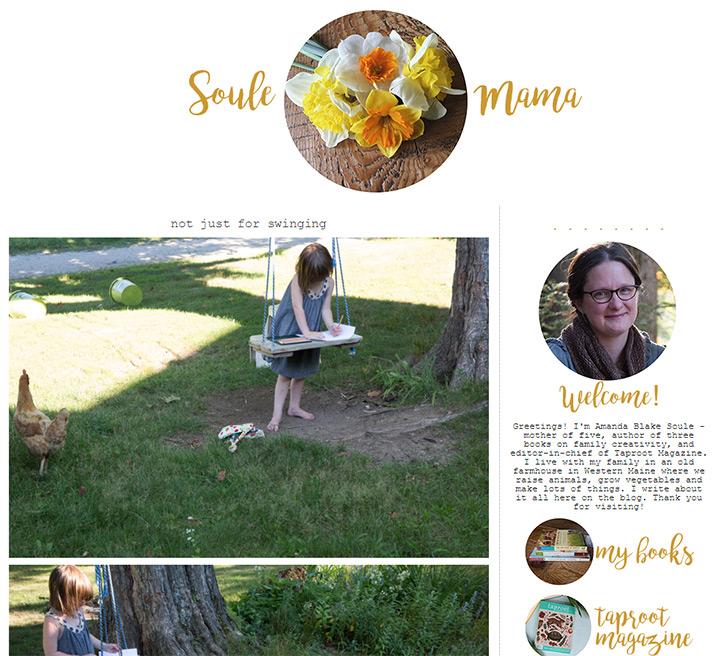 soule mama blog