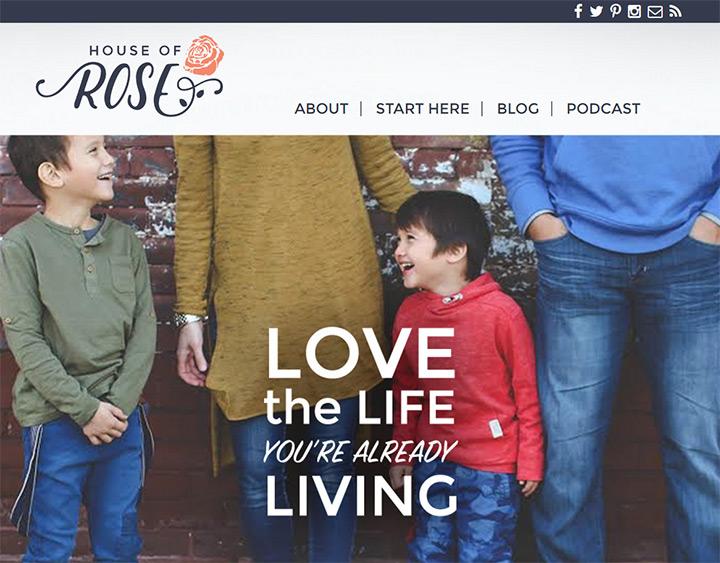 house of rose blog