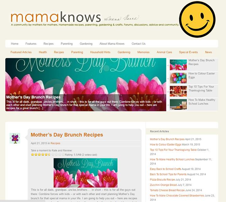 mama knows blog