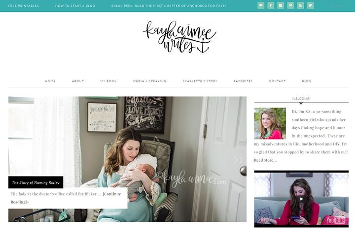kayla aimee blog