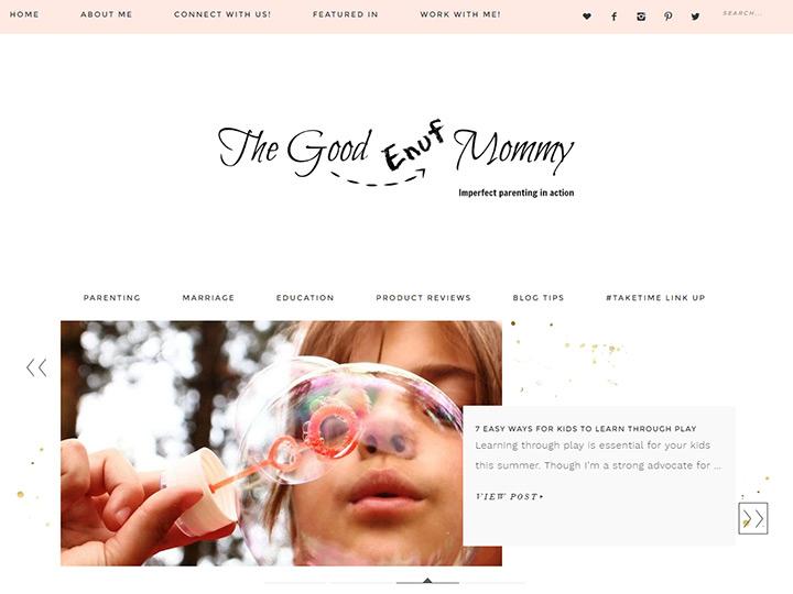 good enuf mommy blog