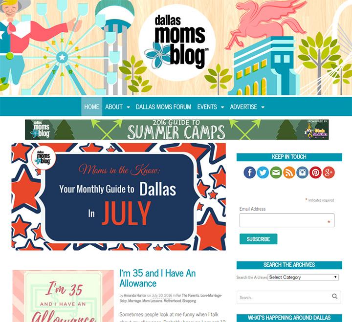 dallas mom blog