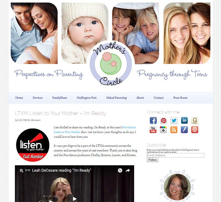 mothers circle blog