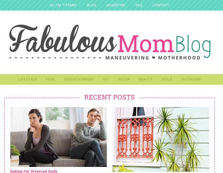 fabulous mom blog website