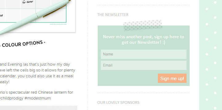 Fellow Fellow newsletter form